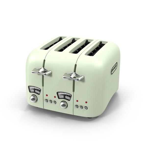 DeLonghi Retro Toaster Object