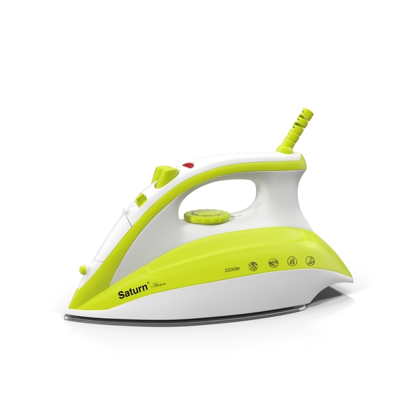 Saturn Clothes Iron Object