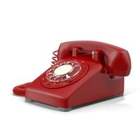 Retro Phone Object