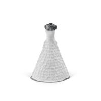 Wedding Dress On Mannequin  Object