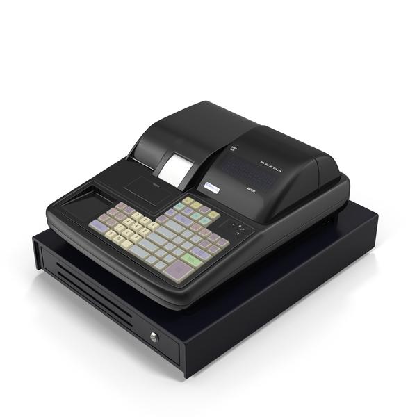 Modern Cash Register Object