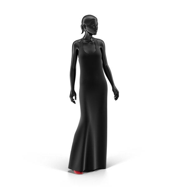 Showroom Mannequin With Dress Object