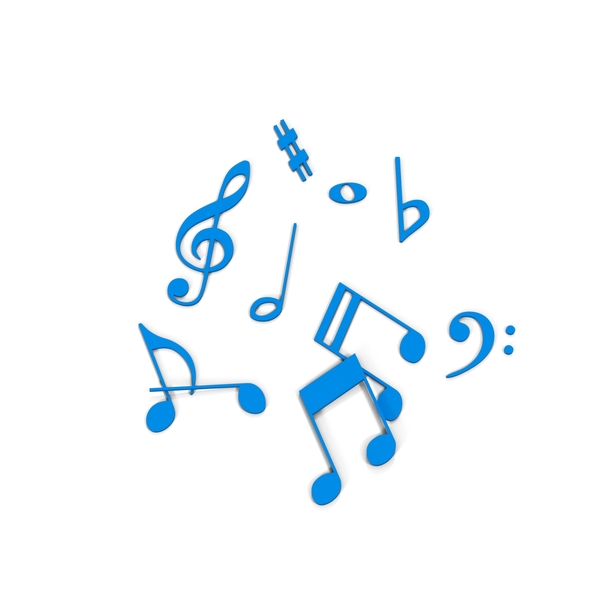 Music Notes Object