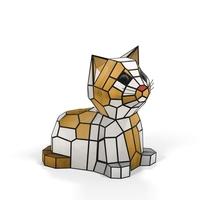 Kitten Animal Lamp Object