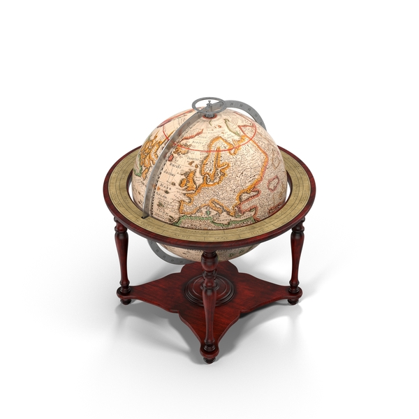 Antique Globe Object