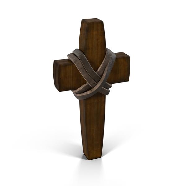 Wooden Cross Object