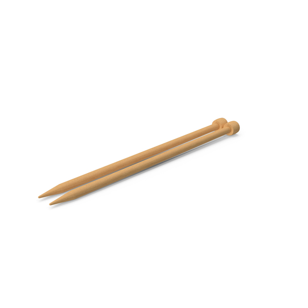 Knitting Needles Object
