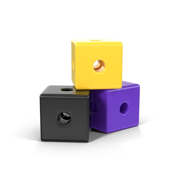 Cube With Holes Object