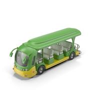 Cartoon Tour Bus Object