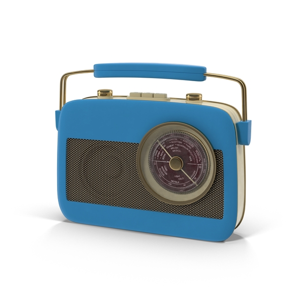 Retro Radio Object