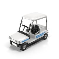 Cartoon Golf Car Object