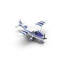 Light Propeller Plane Object