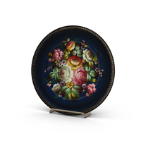 Decorative Plate Object
