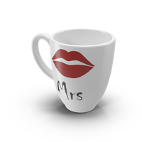 Mrs Coffee Cup Object