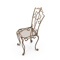 Cast Iron Chair Object