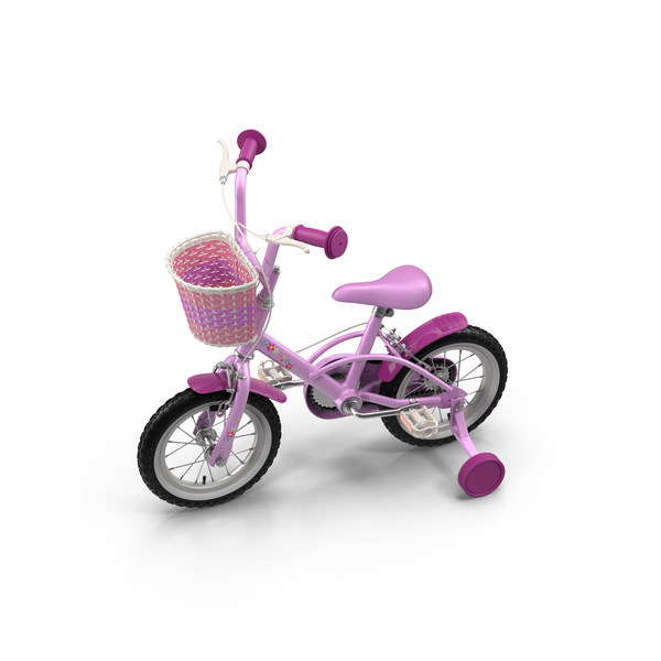 Little Girls Bicycle Object