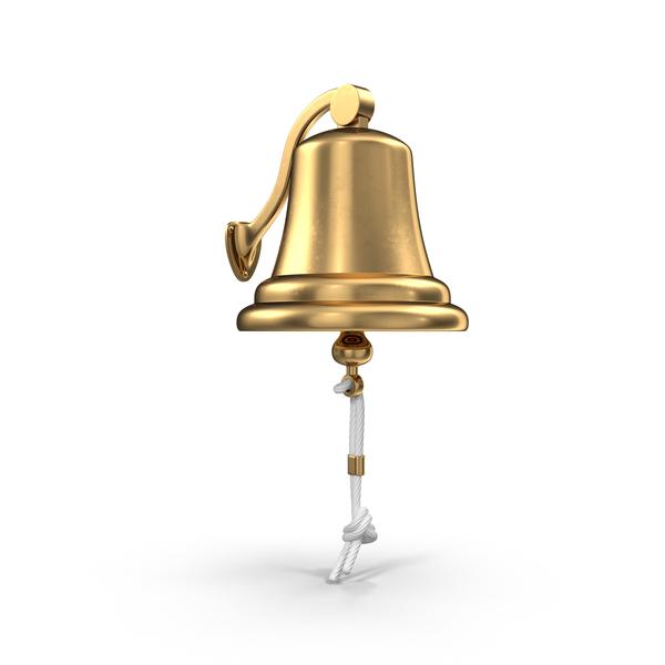 Sea Brass Bell Object