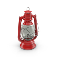 Red Oil Lamp Object