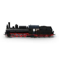 Steam Locomotive Object