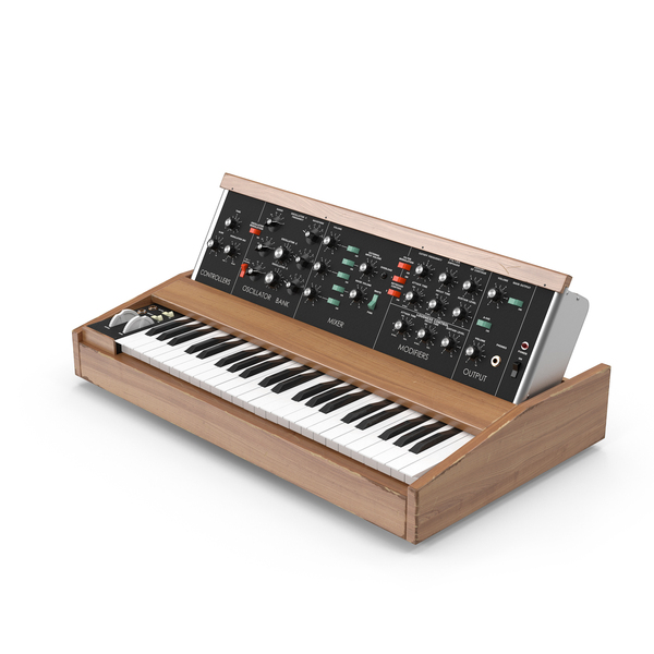 Vintage Synth Object