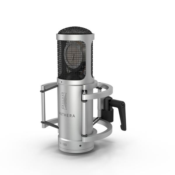 Brauner Phanthera Microphone Object