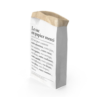 Smal Paper Bag Object