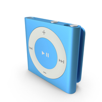 iPod Shuffle Blue Object