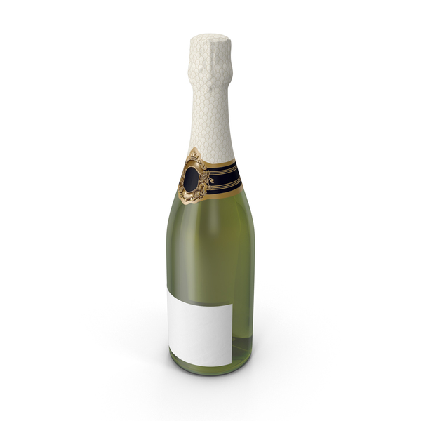 Champagne Bottle Object