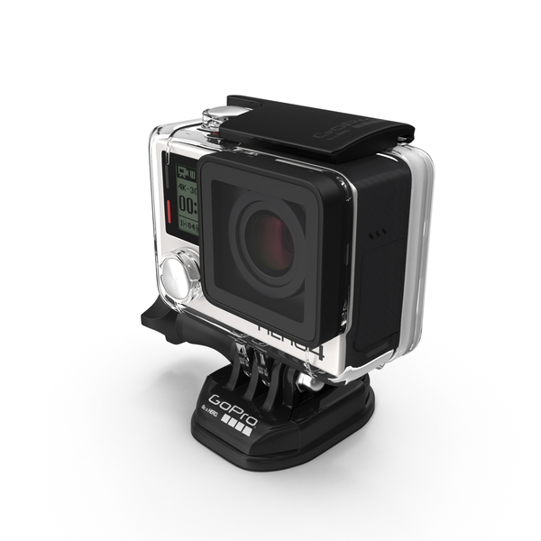 GoPro HERO4 Black Edition Camera Object