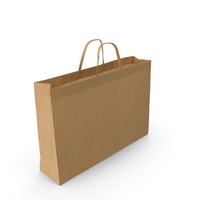Paper Shopping Bag  Object