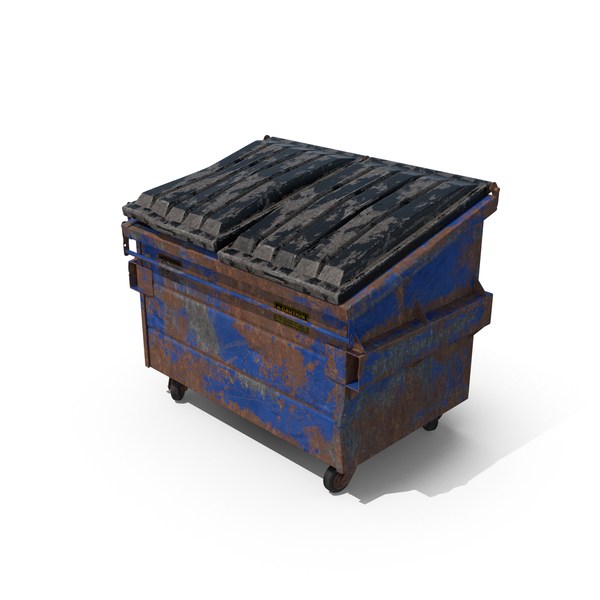 Destroyed Dumpster Object