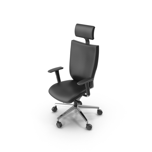 Leather Office Chair Object
