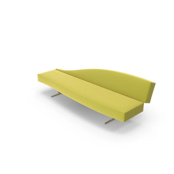 Yellow Sofa Object