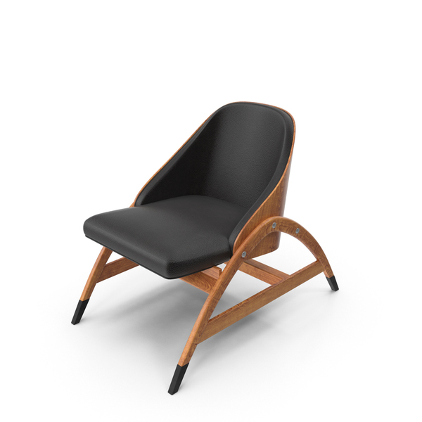 Wood Frame Chair Object