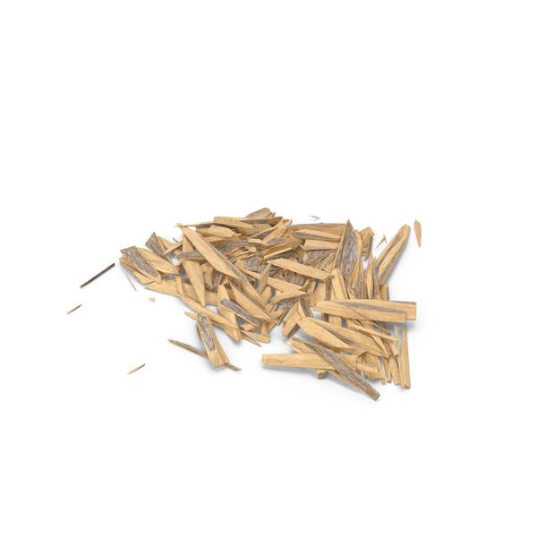 Splintered Wood Object