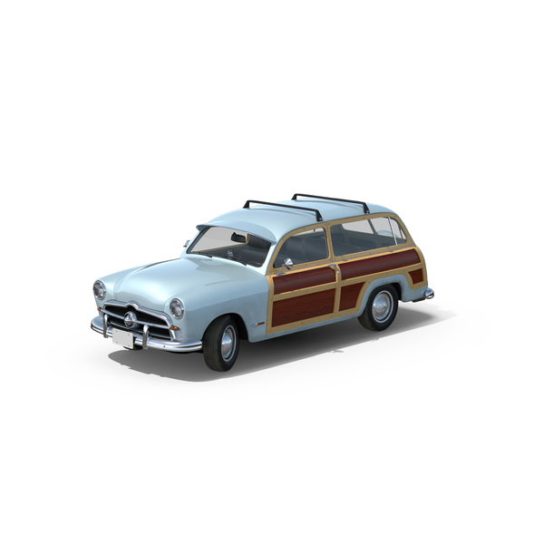 Generic Retro Car Object