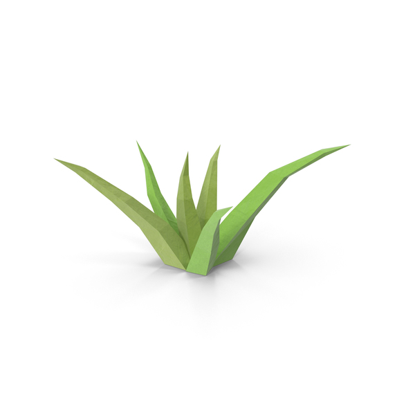 Grasses (Low Poly) Object