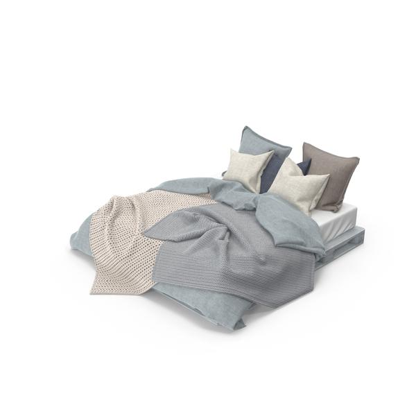 Pallet Bed Set Object
