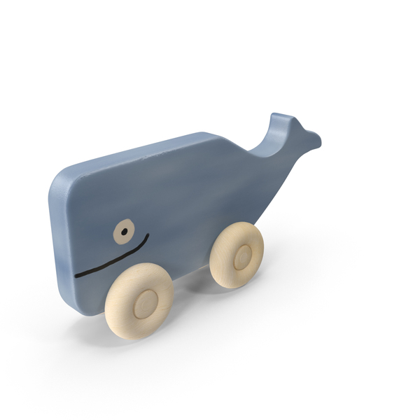 Baby Whale Toy Object