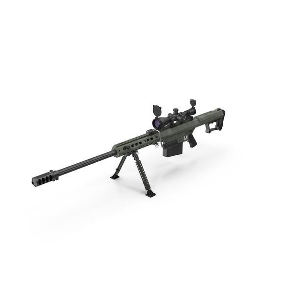 Barrett M107 Object