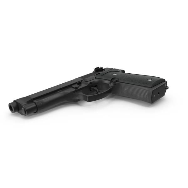 Beretta 92F Black Object