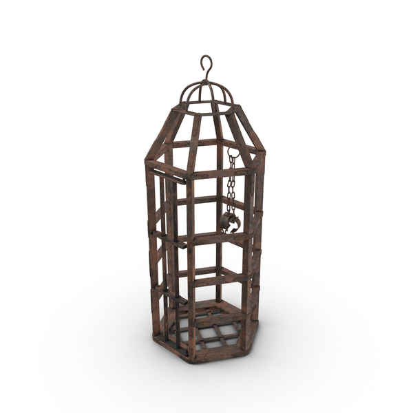 Medieval Cage Object