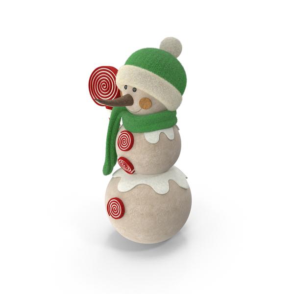 Snowman Decoration Object
