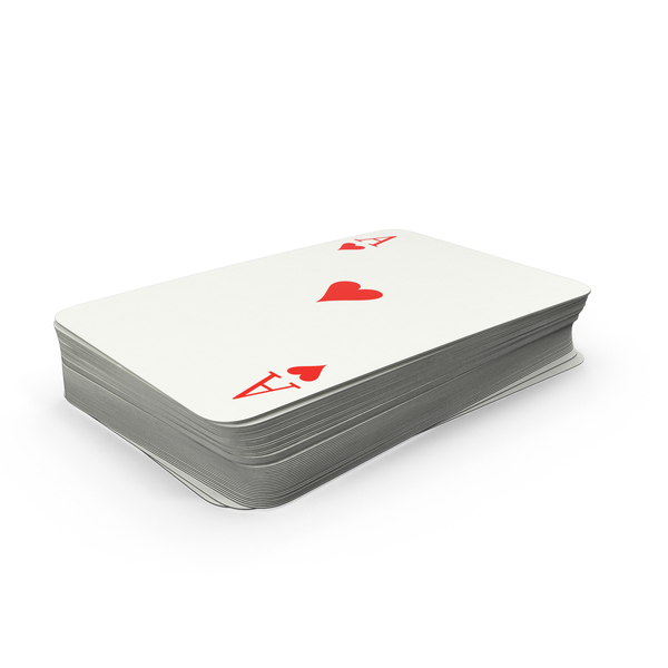 Deck of Playing Cards Object
