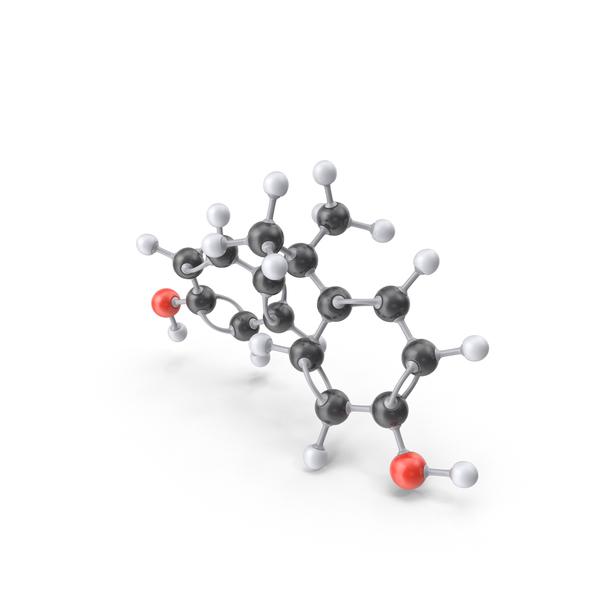 Bisphenol A Molecule Object