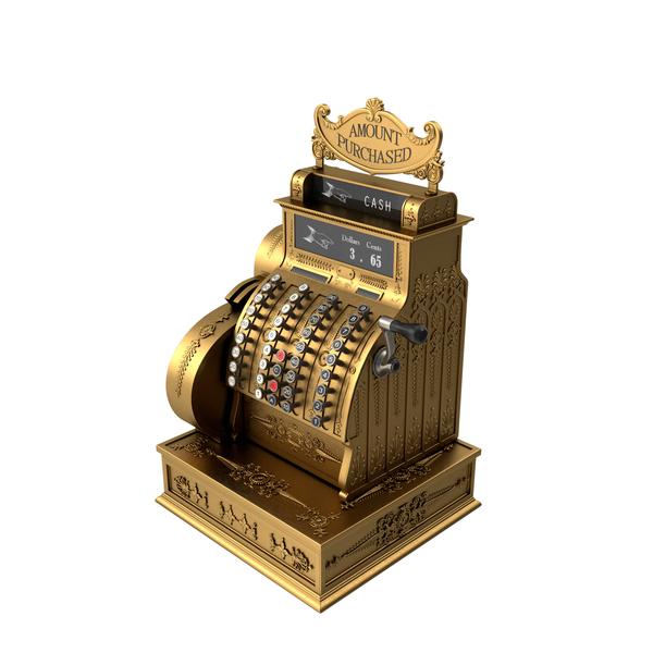 Antique National Cash Register Object
