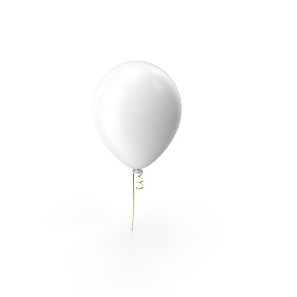 White Balloon Object