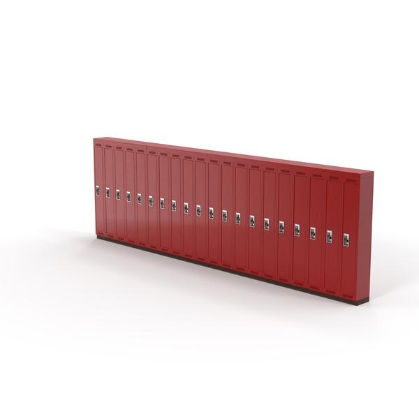 School Lockers Object