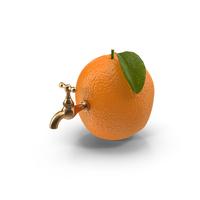 Orange Tap Object